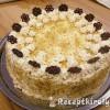 Modern Eszterházy torta