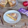 Almás csokoládés pite