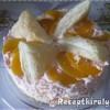 Barackos rizses tejszínhabos torta