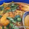 Csípős garnéla leves