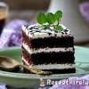 Csokoládés réteges sütemény