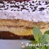 Gesztenyés banános süti