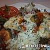 Gombás sonkás sajtos omlett