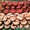 Kókuszos kakaós linzerkarikák