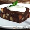 Mogyorós csokoládés brownie