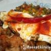 Pizzasonka tükörtojással csicsókával zöldségekkel