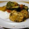 Zöldséggel sült csirkemell