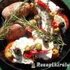 Mediterrán csirkemell paradicsommal mozzarellával