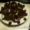 Meggyes csokis muffin