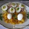 Párizsis tojásos egytál