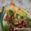 Salátatál avocadoval rákkal