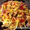 Zöldséges mustáros sertésragu