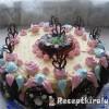 Amerikai fánk torta