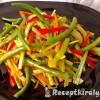 Csípős sült zöldségek