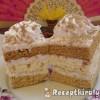 Gesztenye püré sütemény