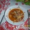 Csicsókás gulyás leves
