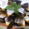 Csokis citromos zebra szelet