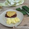 Fügés sajtos hússzeletek