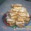 Túrós almás pite