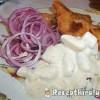 Rántott harcsa majonézes krumplival