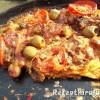 Sprotnis mozzarellás pizza