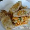 Zöldséggel göngyölt sertéskaraj