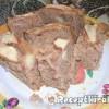 Almás bögrés süti