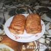 Almás vaníliapudingos leveles péksütemény