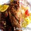 Sült liba petrezselymes burgonyával