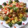 Brokkolis csirke pecsenye