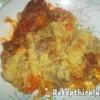 Vörösboros paprikás csirkecomb krumplipürével