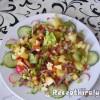 Balzsamecetes vegyes saláta