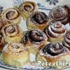 Mézes sütőtökkrémes csiga