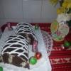 Kókuszos méteres süti