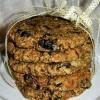 Zabpelyhes aszalt szilvás keksz