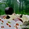 Cseresznyés csokis cupcake