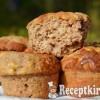 Gesztenyés almás muffin - paleo