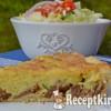 Mascarponés krumplipürés kolbászos pite