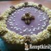 Diétás diókrémes torta