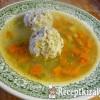 Húsgombócleves Hajdula konyhájából
