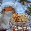 Narancsos fűszeres karácsonyi teasüti - paleo