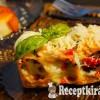 Spenótos lazacos cannelloni