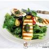 Grillezett kecskesajtos saláta