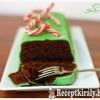 Karácsonyi hangulatú mentás sütemény