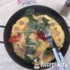 Spenótos, sonkás, sajtos omlett