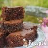 20 perces csokis kókuszos kocka - paleo