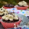 Avokádós datolyás muffin gesztenyés krémmel - paleo