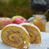 Gyors fahéjas almás tekercs - paleo