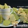 Háromszínű sütipecsétes keksz