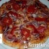 Gyors pizza házilag